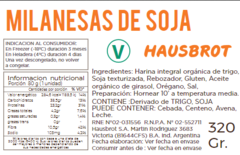 Ingredientes y Tabla Nutricional