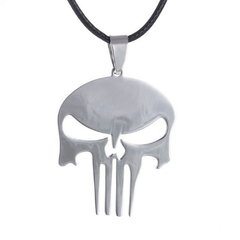 Colar Justiceiro - The Punisher Marvel