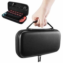 FUNDA NEGRA RIGIDA PARA NINTENDO SWITCH
