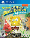 SPONGEBOB BATTLE FROM BIKINI BOTTOM PS4