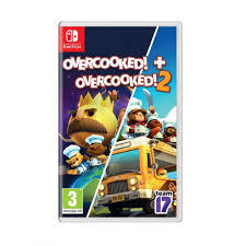 OVERCOOKED 1 AND 2 SWITCH