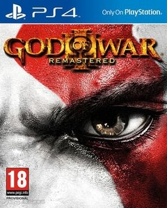 GOD OF WAR 3 REMASTER PS4