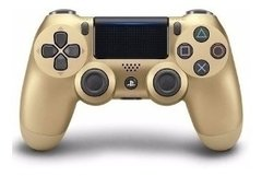 JOYSTICK PS4 NUEVO COLOR DORADO