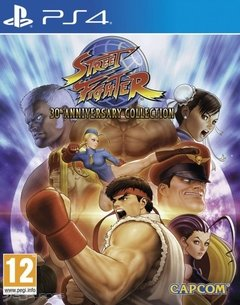 STREET FIGHTER 30 ANIVERSARIO PS4