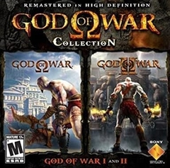 God of War Collection 1 + 2 (IDIOMA INGLES)