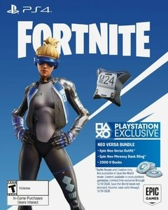 FORTNITE PACK NEO VERSA 2000 PAVOS