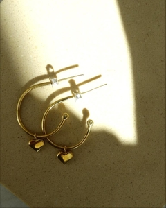 AROS AMORE MIO IN THE MOON BRONCE - comprar online