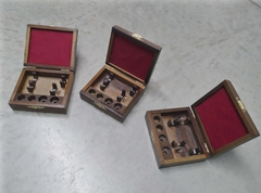 Wooden case for two trumpet mouthpieces - buy online