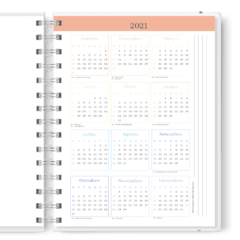 Planner 2021 | Stones | Black Bubble Marble na internet